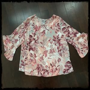 🌺NWT Beautiful Blouse, Catherine's in size OX🌺